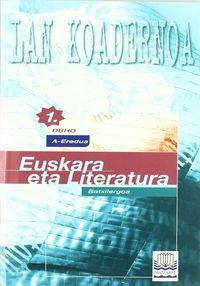 BATX 1 - EUSKARA KOAD - A EREDUA