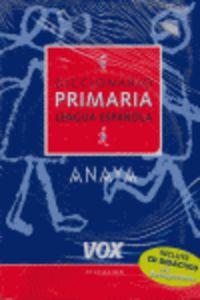 Dicc. Primaria Lengua Española + Cd - Aa. Vv.