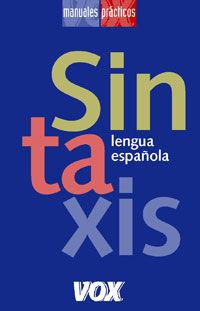 Sintaxis Lengua Española - Aa. Vv.