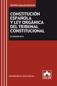 (9ª ED) CONSTITUCION ESPAÑOLA Y TRIBUNAL CONSTITUCIONAL