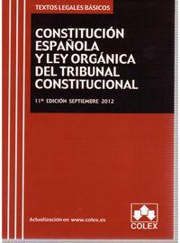 (11ª ED) CONSTITUCION ESPAÑOLA Y TRIBUNAL CONSTITUCIONAL