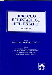 DERECHO ECLESIASTICO DEL ESTADO (2ª ED)
