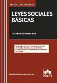 (12ª ED) LEYES SOCIALES BASICAS