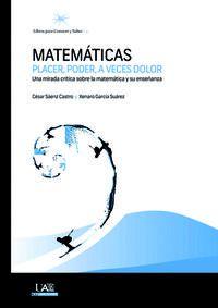 MATEMATICAS - PLACER, PODER, A VECES DOLOR
