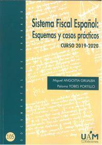 SISTEMA FISCAL ESPAÑOL - ESQUEMA Y CASOS PRACTICOS