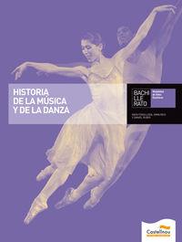 Bach 1 - Historia De La Musica Y La Danza (+cd) (c. Val) (castellano) - Rafael Vicente Fenollosa Vazquez