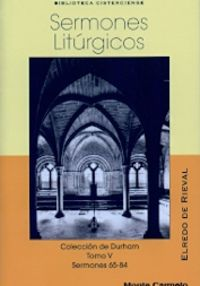 sermones liturgicos v - Elredo De Rieval