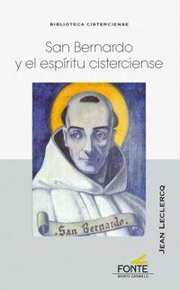san bernardo y el espiritu cisterciense - Jean Leclercq