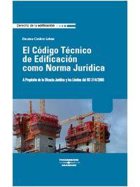 CODIGO TECNICO DE EDIFICACION COMO NORMA JURIDICA
