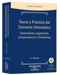 TEORIA Y PRACTICA CONVENIO URBANISTICO (6ª ED)