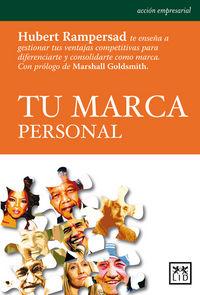 Tu Marca Personal - Hubert Rampersad