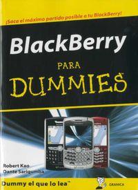 Blackberry Para Dummies - Robert Kao