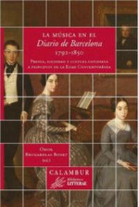 MUSICA EN EL DIARIO DE BARCELONA, LA (1792-1850)
