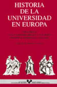 HISTORIA DE LA UNIVERSIDAD EN EUROPA VOLUMEN II