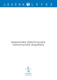 ESPAINIAKO KONSTITUZIOA = CONSTITUCION ESPAÑOLA