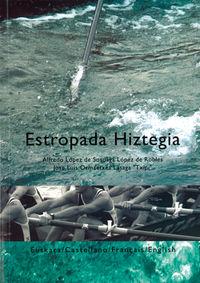 Estropada Hiztegia - Alfredo Lopez De Sosoaga