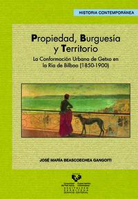 Propiedad, Burguesia Y Territorio - J. Maria Beascoechea Gangoiti