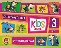 3 URTE - KIDS 2. HIRUHILEKOA