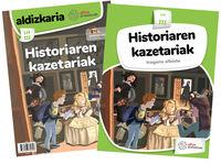 LH 3 - 2. PROIEKTUA - III. MAILA - HISTORIAREN KAZETARIAK