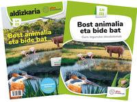 LH 3 - NATUR ZIENTZIAK - BOST ANIMALIA ETA BIDE BAT - GURE INGURUKO EKOSISTEMAK (PROIEKTUAK)