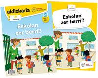 Lh 1 - Gizarte Zientziak - Eskolan Zer Berri? (proiektuak) - Batzuk