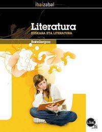 BATX 1 / 2 - LITERATURA - D EREDUA - I. BAI HI