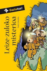 Leize-Zuloko Misterioa - Iñaki Zubeldia / Alai Zubimendi (il. )