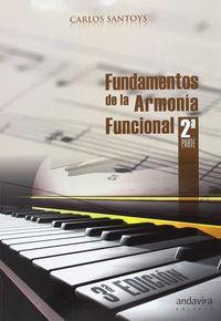 (3 ED) FUNDAMENTOS DE LA ARMONIA FUNCIONAL II