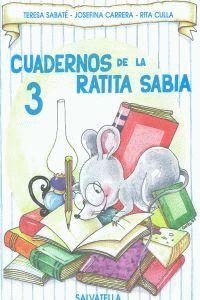 CUADERNO RATITA SABIA 3 (MAYUSCULAS)