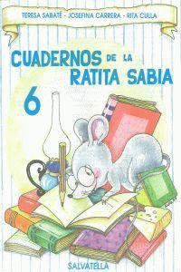 CUADERNO RATITA SABIA 6 (MAYUSCULAS)