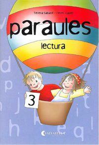 NOVES PARAULES LECTURA 3