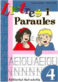 LLETRES I PARAULES 4