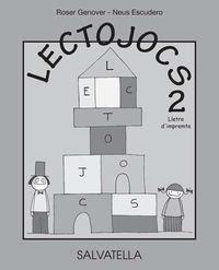 LECTOJOCS 2 - LLETRA D'IMPREMTA