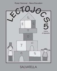 LECTOJOCS 5 - LLETRA D'IMPREMTA