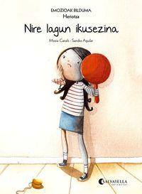 Nire Lagun Ikusezina (heriotza) - Mireia Canals Botines / Sandra Aguilar (il. )