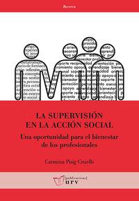 La supervision en la accion social - Carmina Puig Cruells