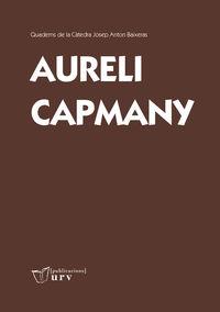 AURELI CAPMANY (CATALAN)