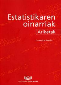 ESTATISTIKAREN OINARRIAK - ARIKETAK (2 ED)