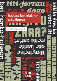 euskara kolokialaren eskuliburua - Asier Larrinaga Larrazabal