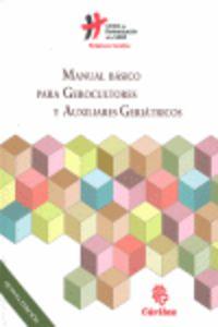 MANUAL BASICO PARA GEROCULTORES Y AUXILIARES GERIATRICOS