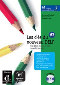 Les Cles Du Nouveau Delf (a2) (+cd) - Aa. Vv.