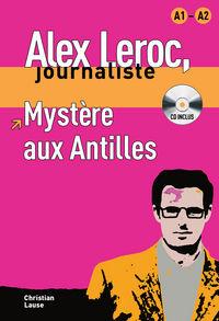 MYSTERE AUX ANTILLES (A1-A2) (+CD)