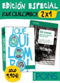 (pack)  ¡que Quilombo! 2x1 (ed. Especial) - Aa. Vv.