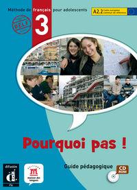 POURQUOI PAS! 3 GUIA (CD-ROM)