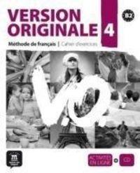 Version Originale 4 (b2) Cahier (+cd) - Aa. Vv.