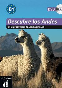 Descubre - Los Andes (+dvd) - Aa. Vv.