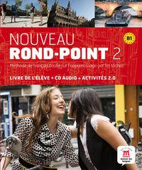 Nouveau Rond-Point 2 (b1) (+cd) - Aa. Vv.