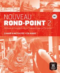 Nouveau Rond-Point 2 (b1) Cahier (+cd) - Aa. Vv.