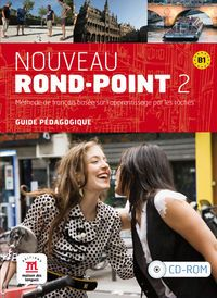 Nouveau Rond-point 2 Guia (cd) - Aa. Vv.