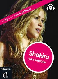 Shakira (nivel A2)  (+cd) - Aa. Vv.